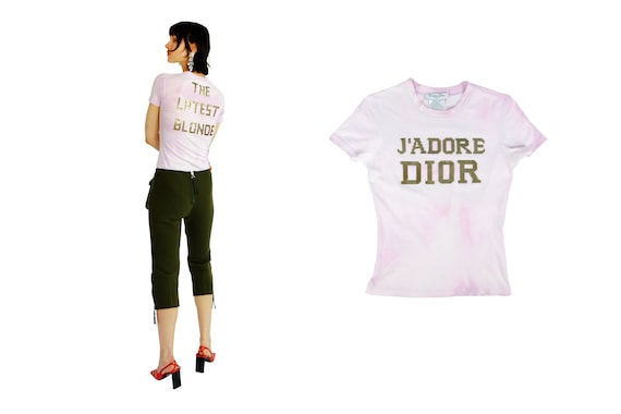 """CHRISTIAN DIOR j'ADORE Dior """"The Latest Blonde"""" Top"""