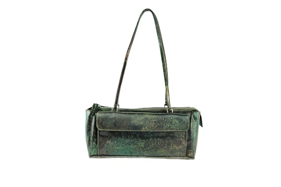 JEAN Paul GAULTIER Iridescent PVC Cyber Bag