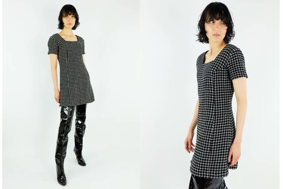 VERSACE JEANS COUTURE  Woven Wool Dress