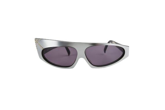 ALAIN MIKLI 1984 Rhinestone Sunglasses