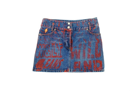 W.&L.T by WALTER Van BEIRENDONCK Jeans Skirt
