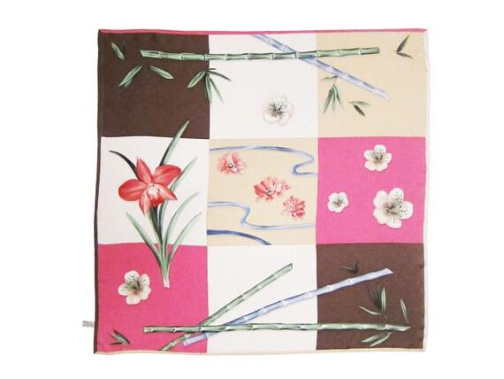 PATEK PHILIPPE Limited Edition Bamboo Print Silk Scarf
