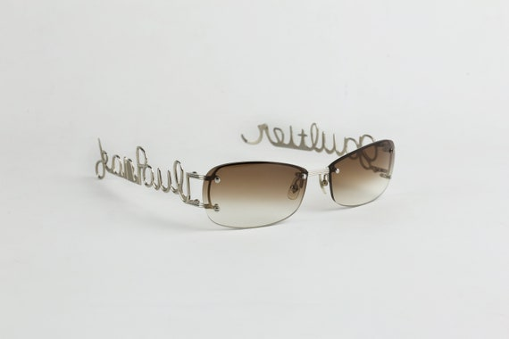 JEAN PAUL GAULTIER Iconic Logo Sunglasses