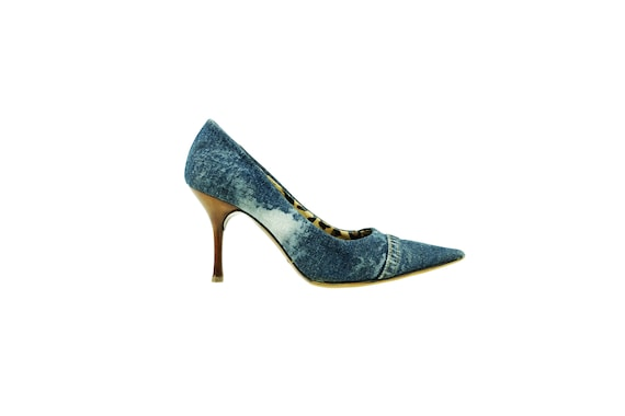 DOLCE & GABBANA Denim Pumps
