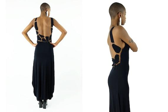 JEAN PAUL GAULTIER Femme Cutout Chain Dress