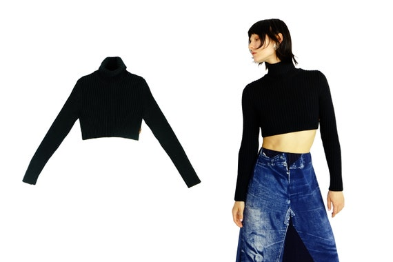 JEAN PAUL GAULTIER Cropped Turtleneck
