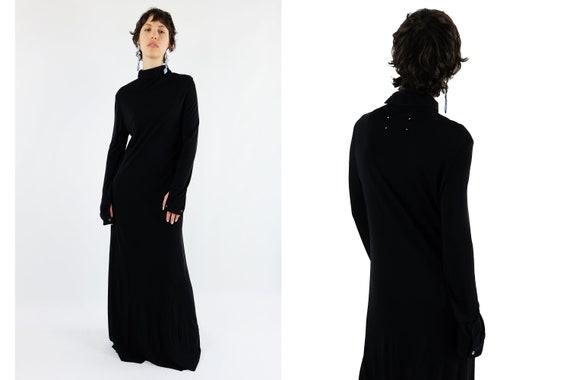 MAISON MARTIN MARGIELA Minimalist Maxi Dress