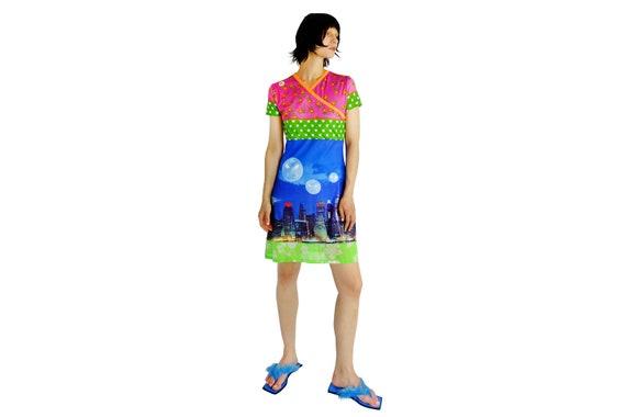 W.&L.T WALTER Van BEIRENDONCK World Alien Love Transmission/Multicoloured Dress