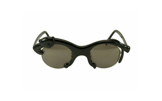 YOHJI YAMAMOTO 52-5002 Black Panther Rare Collectable Vintage Sunglasses