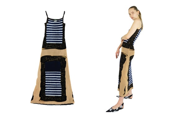 JEAN PAUL GAULTIER Maxi Mesh Dress