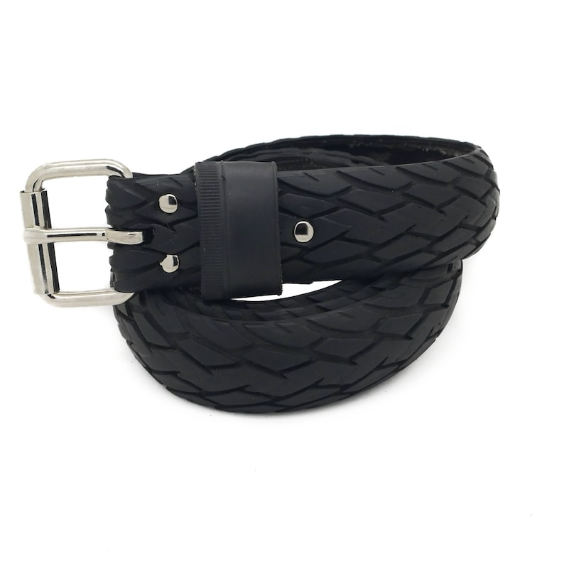 Bicycle Tire Belt NO LOGO 35mm by tirebelt.com upcycled vegan handmade Collection 2021
