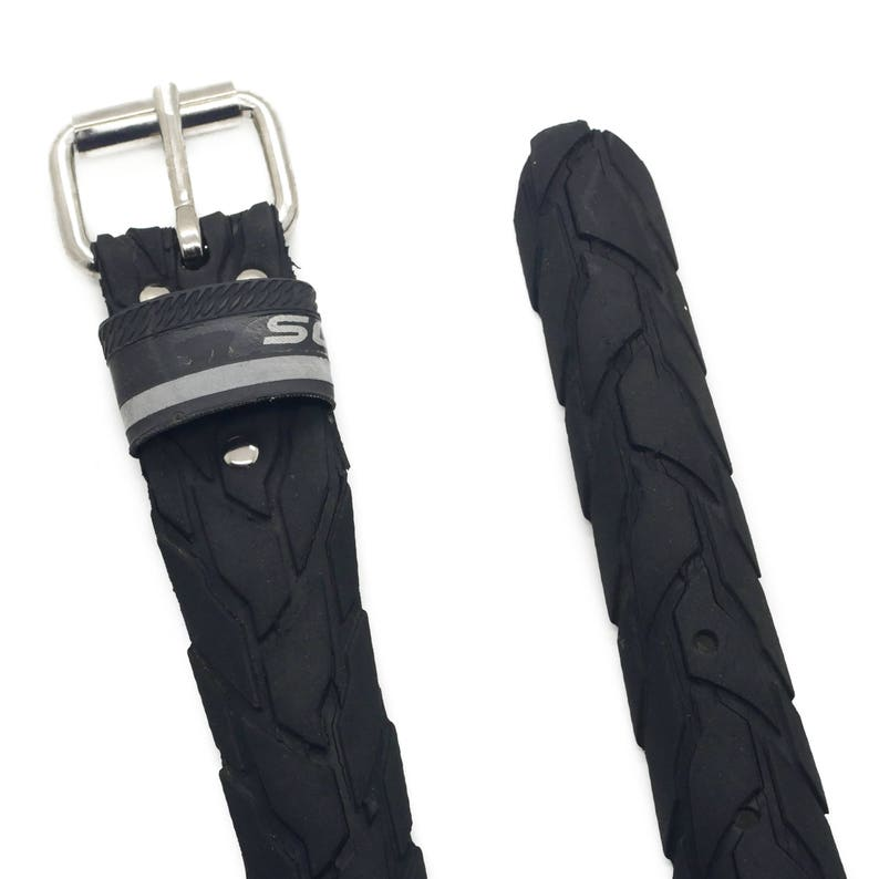 Bicycle Tire Belt S 35mm upcycled vegan handmade by tirebelt.com Collection 2019