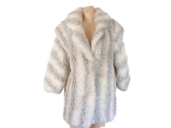 White Faux Fur Coat 80s Faux Fur Coat 80s Winter C