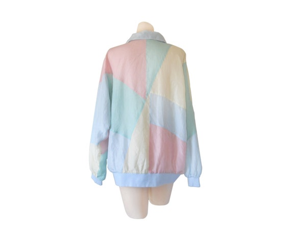 Pink Windbreaker Pastel Windbreaker Women Windbrea