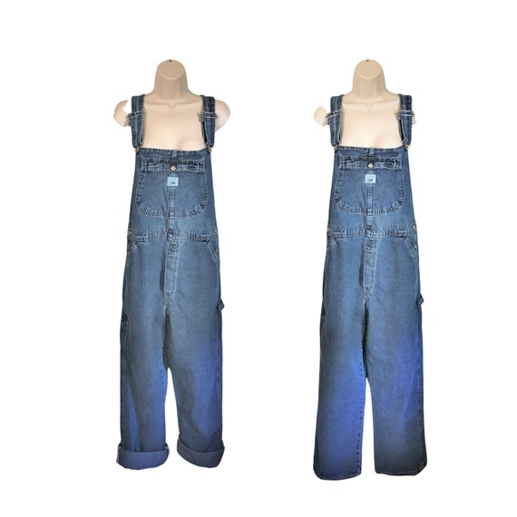 Women Denim Overall Pants Vintage Lee Overall Wome