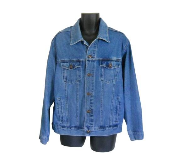 Men Denim Jacket Men Jean Jacket 90s Denim Jacket