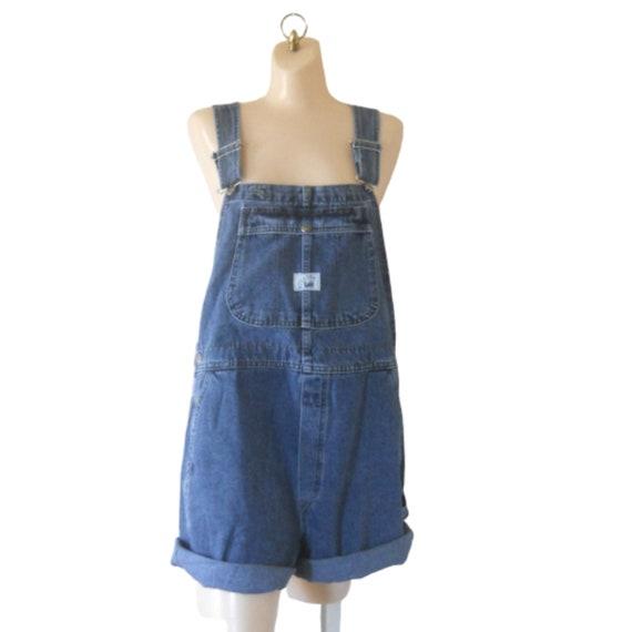 2X Lee Overall Women Denim Overall Shorts Denim Sh