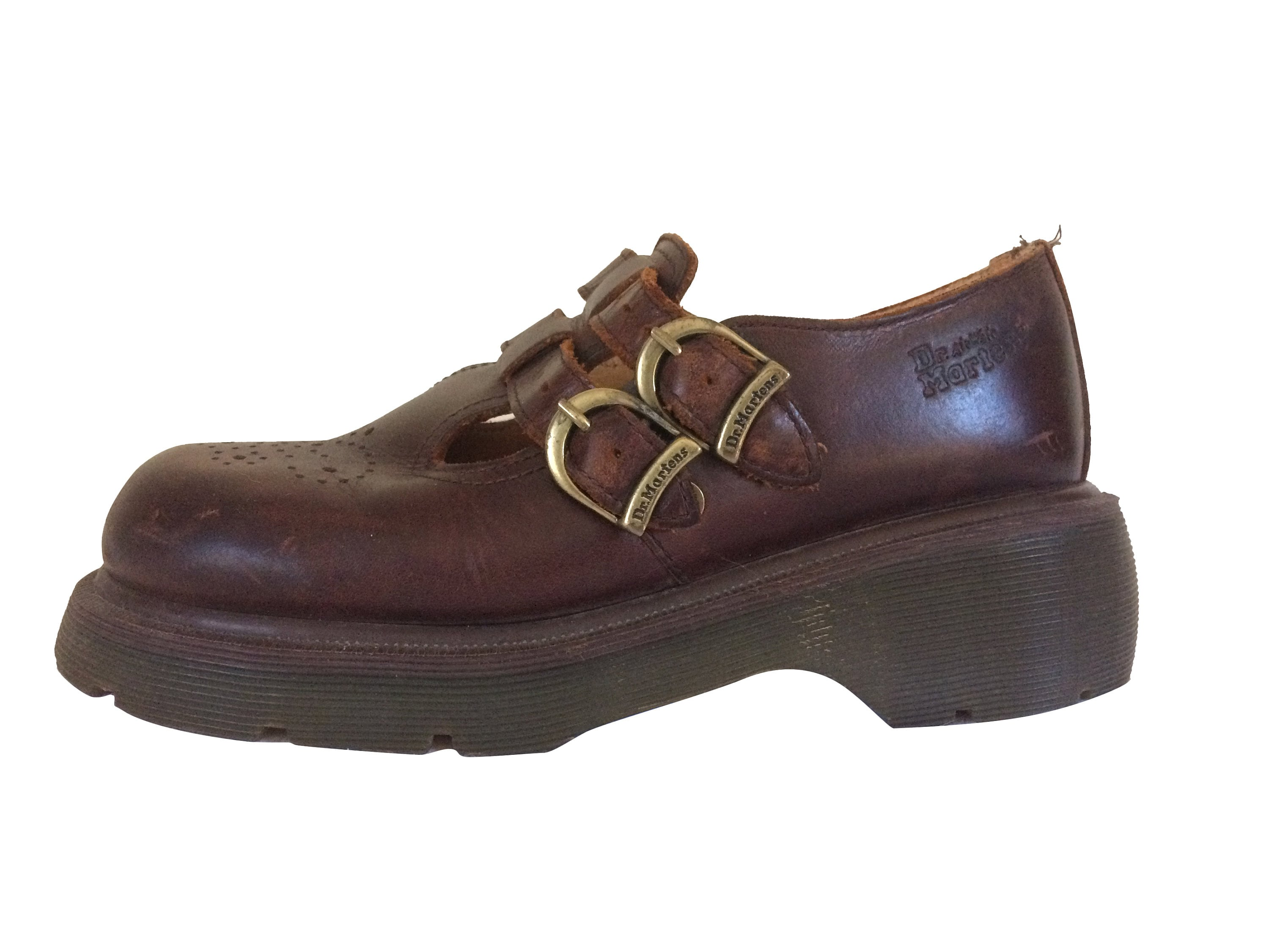 18cad8208aafe Vintage 90s Dr Martens Mary Jane 90s Mary Jane Size 6 Brown Dr Martens  England Doc Martens Women Dr Martins Doc Martins Doc Martens Size 6