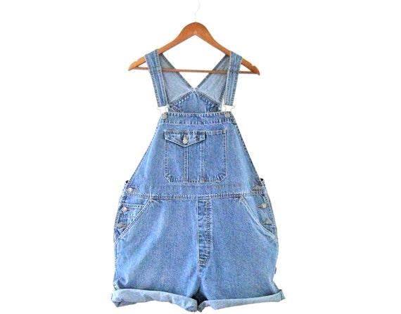 Women Denim Overall Shorts Denim Shortall Denim Bi