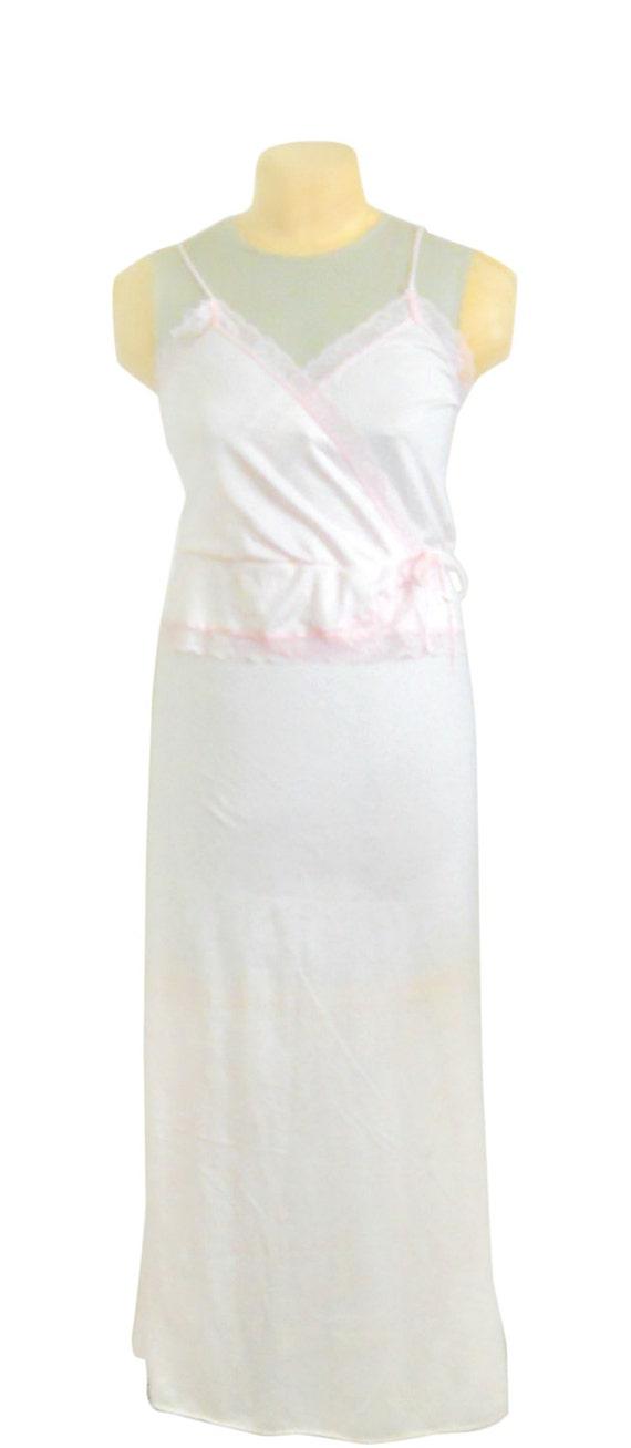 Pink Nightgown Light Nightgown Women Nightie Night