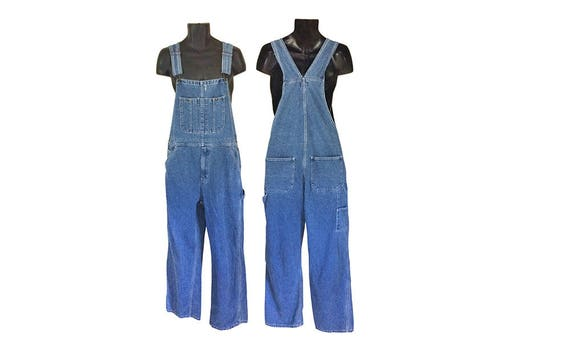 Vintage Overall Men 90s Overall Blue Jean Overall