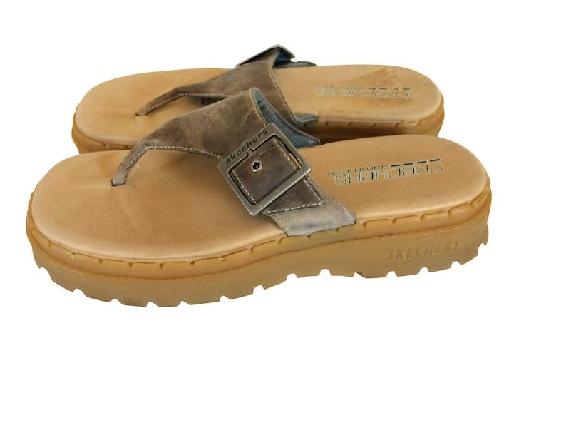 Sandale Des Marron 90 PlateformeEtsy Vintage Années Ybf6g7yIv