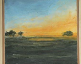 Morning Fog Sunrise Landscape