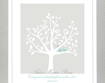 Baby dedication gift - James 1:17 - Print