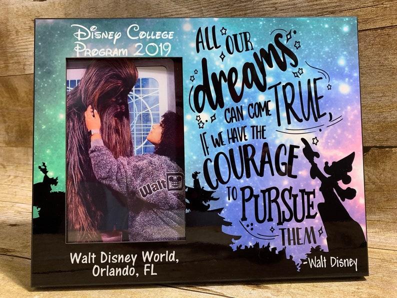 Disney College Program Collectible Photo Frame-Customized
