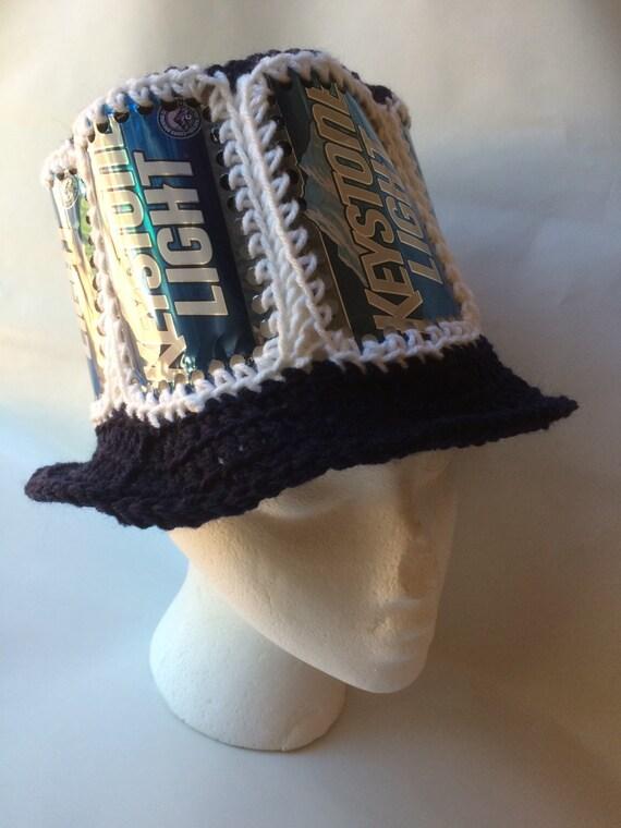 Puede sombrero reciclado Keystone Light Light cerveza de  f0e9559e99c