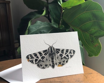 3 Kintsugi Moth Greeting Cards