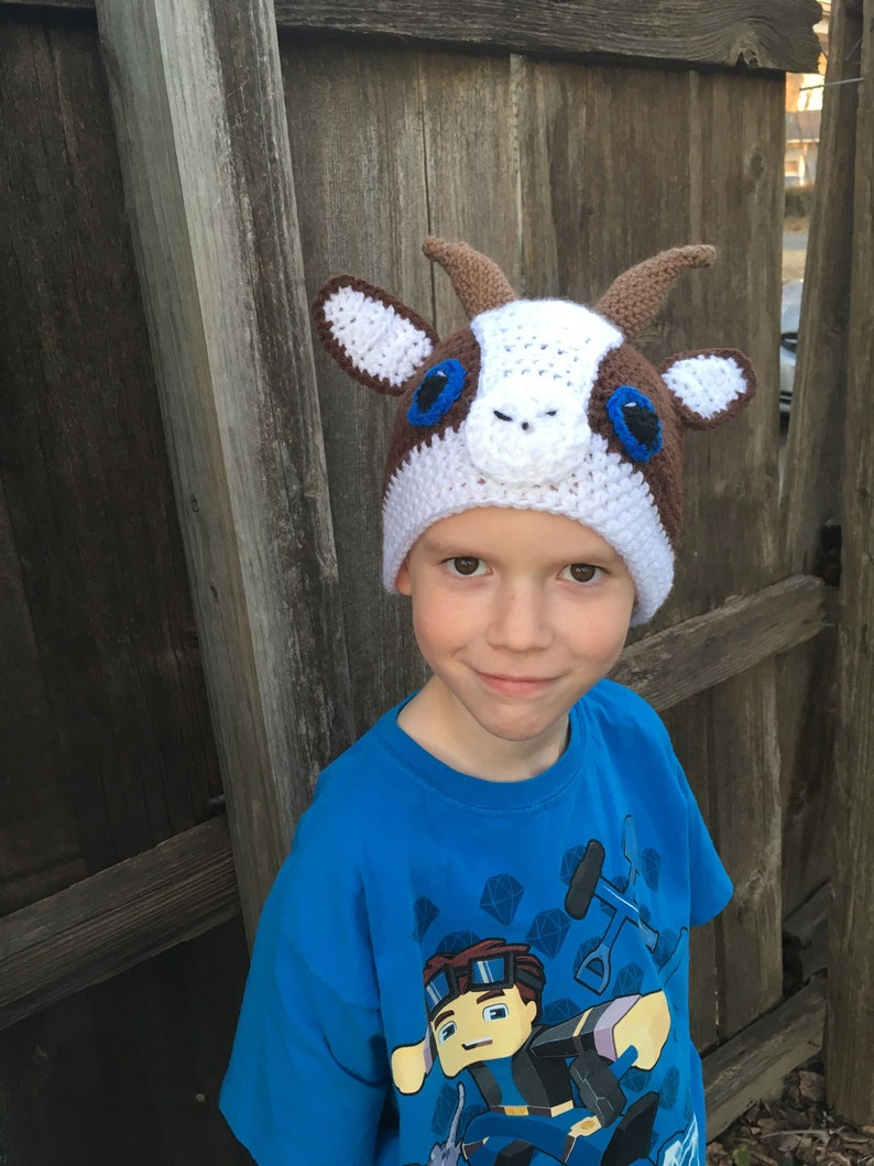 Farm Hat Goat Hat Animal Hat