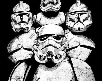 Star Wars - Stormtrooper - A3 Print