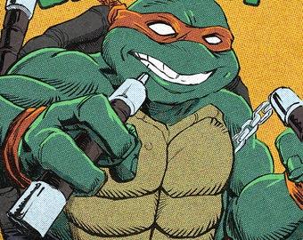 Ninja Turtles - Michelangelo