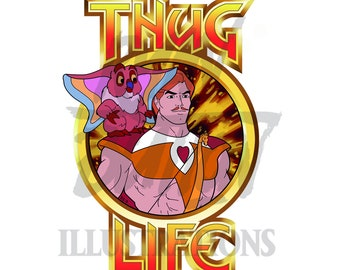 She Ra: Thug Life - Vinyl Sticker