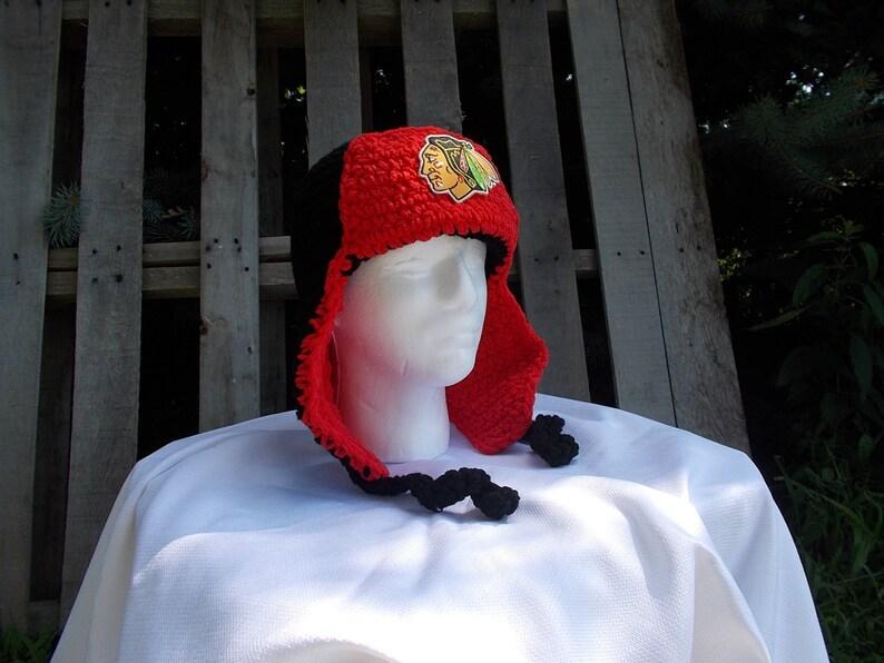 Chicago Blackhawks Fuzzy Warm Lumberjack Men s Hat Chicago  b7f0373f9913
