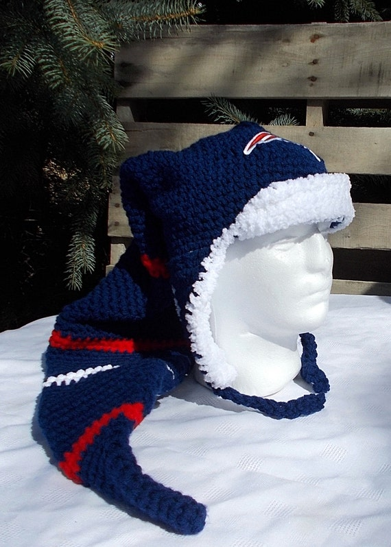 d737d216 ... pom beanies b3647 8c3bc; cheap new england patriots long stocking hat  scarf combo patriots etsy 4c08c ea06c