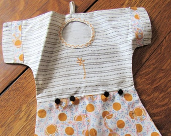 vintage rompers sewing caddy
