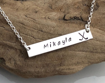 Personalized Sports Necklace