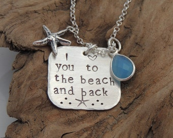 NEW! I love you to the beach and back Necklace