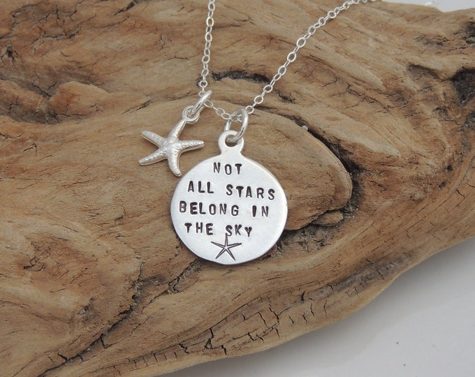NEW! Not all Stars Belong in the Sky Necklace