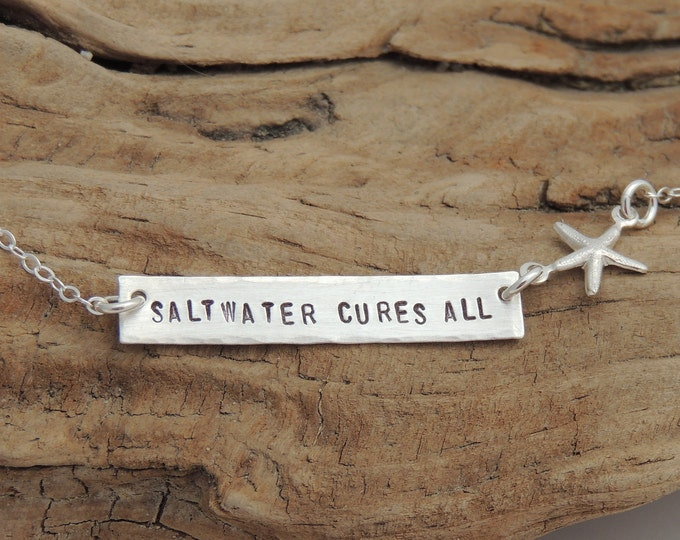 NEW! Saltwater Cures All Necklace