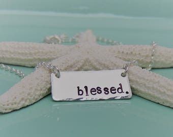 NEW! Blessed Necklace