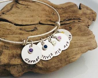 Mother / Child Name Bracelet