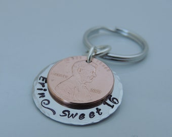 Sweet 16 Key Ring