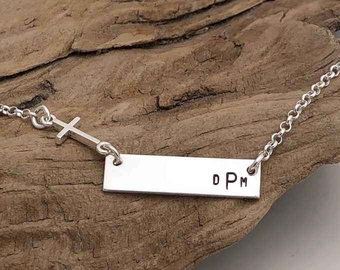 Monogram Necklace - Name Necklace