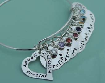 Name Bracelet - Grandmother Bracelet