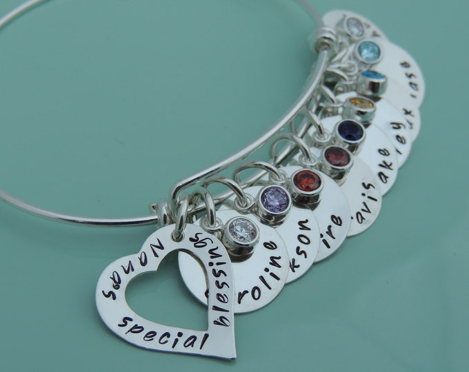 Name Bracelet - Grandmother Bracelet