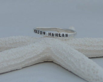 Personalized Ring Mother's Ring