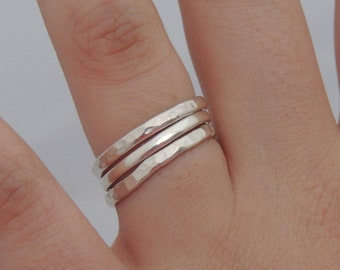 Triple Stacking Ring Set